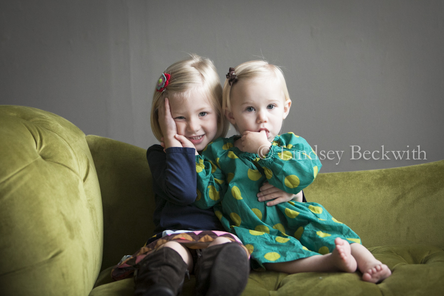 Cleveland baby portraits-sisters