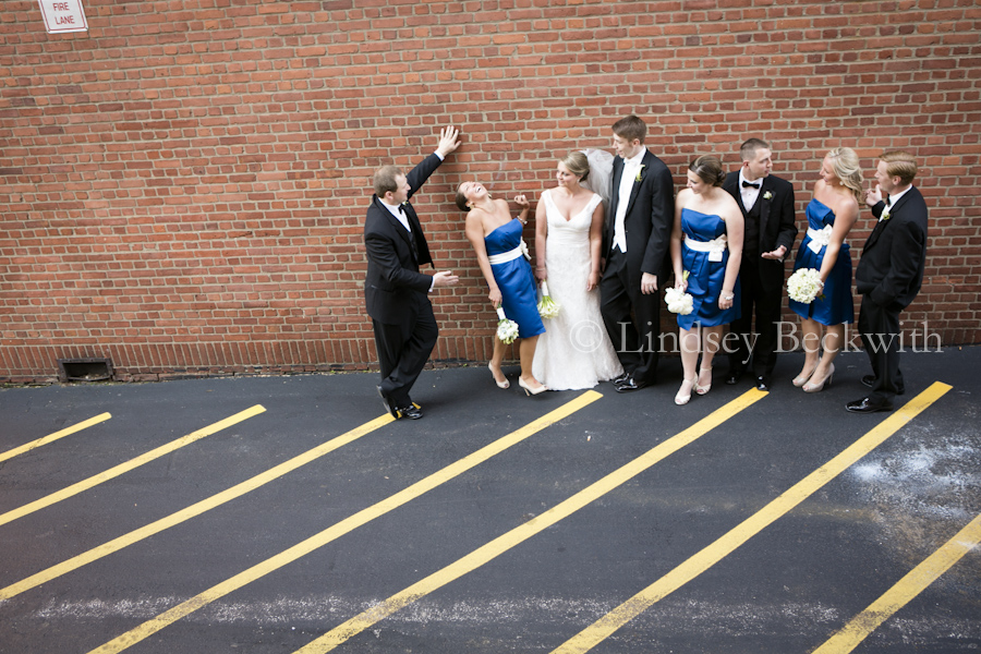 Cleveland contemporary wedding photographer