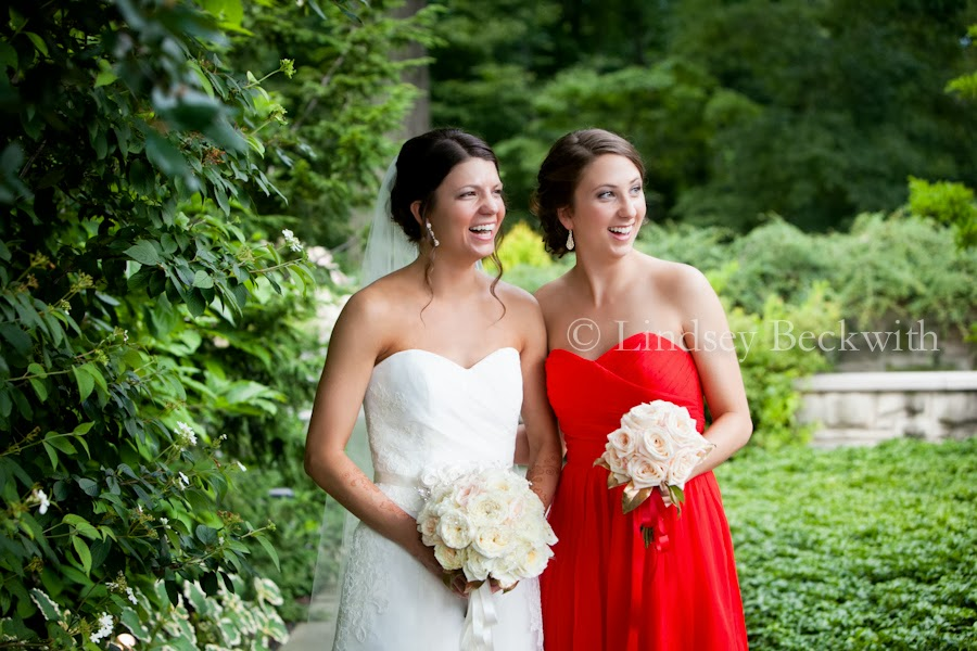 Cleveland Botanical garden wedding photographer