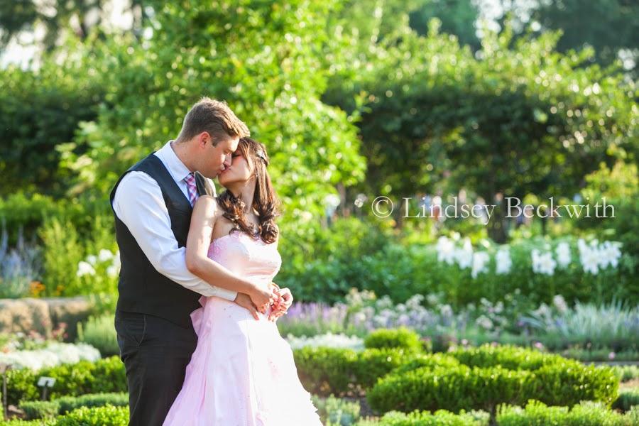 Cleveland Botanical Garden wedding photographer